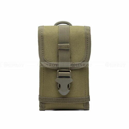 Tactical Bag Mobile Phone Belt Flip Hook Cover Case Pouch Smartphone Holster
