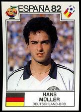 Espana 82 Hans Muller #154 World Cup Story Panini Sticker (C350)