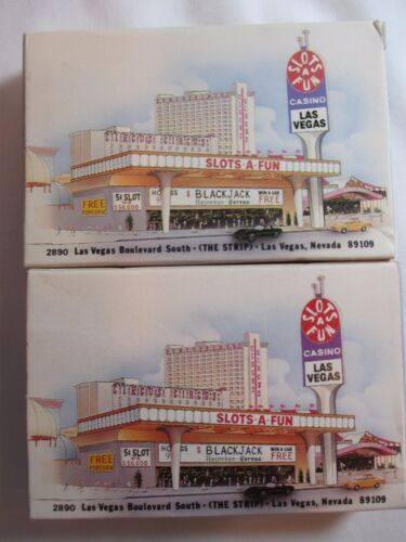 2 Deck Vintage Las Vegas Circus Circus Slot A Fun Casino Playing Cards HONG KONG