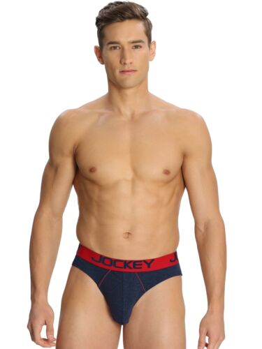 PACK OF 2 Jockey Men/'s Brief For Mens Modern Low Rise Bold Brief  Zone US 17