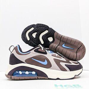 Nike-Air-Max-200-Men-039-s-Running-Training-Gym-Lifestyle-Tan-Blue-AQ2568-200-NIB