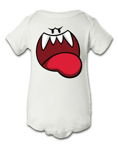 Image is loading Ghost-Boos-Super-Mario-Inspired-Infant-Baby-Newborn-  sc 1 st  eBay & Ghost Boos Super Mario Inspired Infant Baby Newborn Onesie Halloween ...
