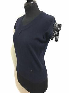 Caricamento dell immagine in corso LIU-JO -Maglia-Maglietta-Donna-Lana-Cashmire-Wool- 52165ffccc8
