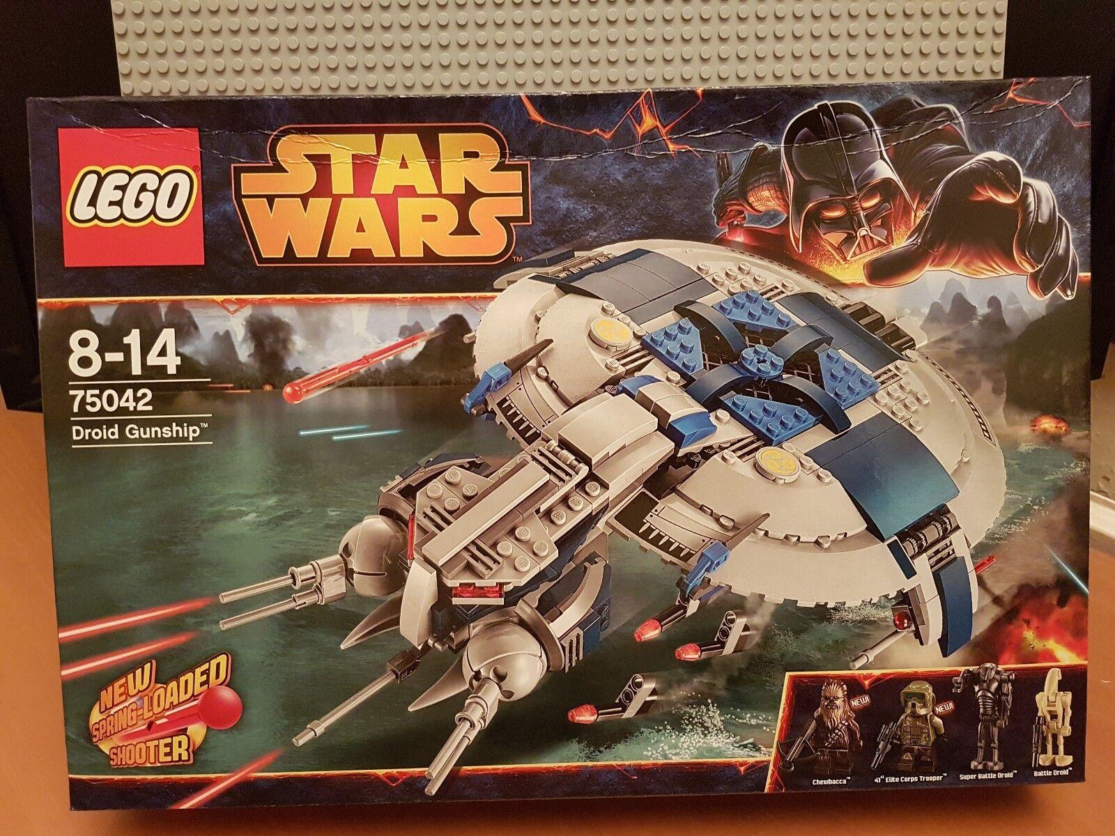 LEGO STAR WARS   75042     DROID GUNSHIP   RARE✔BNIB NEW SEALED✔ BOX HAS WEAR 0f4a55