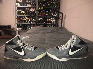 ecd37d052e10 Nike Air Max Body U Mens Athletic Basketball Shoes Size 9 Gray Black ...