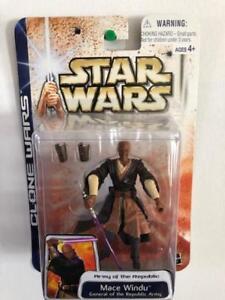 STAR-WARS-2003-CLONE-WARS-Mace-Windu-general-de-l-039-armee-de-la-Republique-Jedi