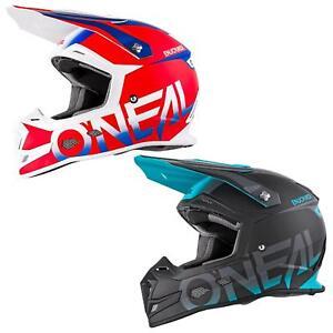 ONEAL-5-Series-bloccanti-MX-Moto-Cross-Casco-Enduro-Quad-Cross-OffRoad-Moto-Teal