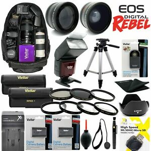 GIANT-HD-8K-LENS-ACCESSORY-KIT-FOR-CANON-EOS-80D-WITH-18-55mm-TRIPOD-BACKPACK