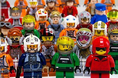 Minifiguren Neu & Used Ehrlich Lego Star Wars Rebel Pilot Minifiguren