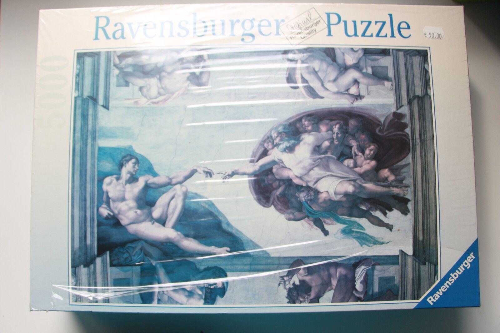 RAVENSBURGER PUZZLE 174089 174089 174089 CREATION OF ADAM NEW  YEAR 2004 IN SEALED BOX 8cbd1c