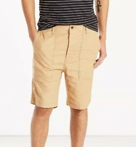 Clearence-Mens-Levis-True-Utility-Everyday-Cotton-Shorts-size-34