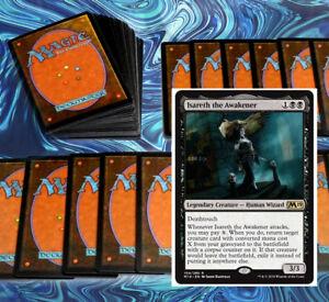 mtg-BLACK-ISARETH-COMMANDER-EDH-DECK-Magic-the-Gathering-100-cards-tetzimoc