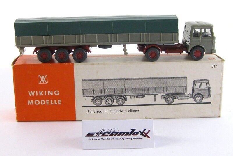 Wiking 517 517 517 2a H0  RAR MAN LKW Sattelzug mit Dreiachs-Auflieger OVP X00001-20639  | Wirtschaftlich und praktisch  7968ee