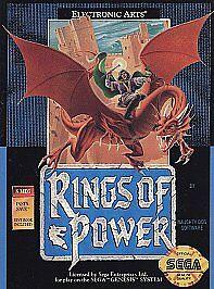 Rings Of Power Sega Genesis, 1991  - $15.00