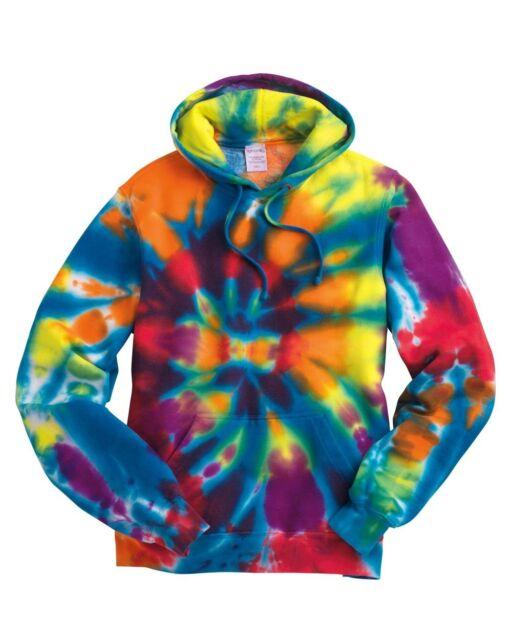 Tie Dye Rainbow SPIRAL Mens Size S-XL 2XL 3XL Hoodie Hooded Sweatshirt NEW Hoody