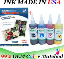Sublimation Heat Transfer Paper 400ml Refill Dye Sublimation Ink Ep Son Print