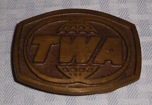 Vintage-TWA-Trans-World-Airlines-Belt-Buckle