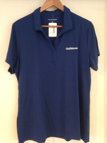 Gulfstream Aircraft Shirt Ladies XL By Port Authority  Blue