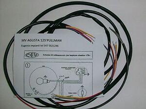 Schema Elettrico Traduzione : Impianto elettrico electrical wiring moto mv agusta pullman