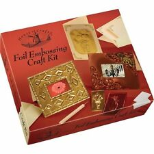 House Of Crafts Foil Embossing Kit Make Gold Picture Frames & Cards HC540