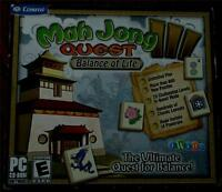 Cosmi Mah Jong Iii Quest, Balance Of Life, Pc Video Game - Brand In Package