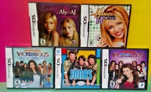 Jonas-Hannah-Aly-AJ-Victorious-Nintendo-DS-DS-Lite-3DS-2DS-Disney-Nickelodeon