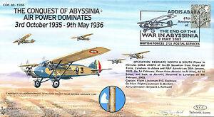 COF 30-1936 Century of Flight - The Conquest Of Abyssinia - Air Power Dominates