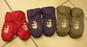 Niedrigerer Preis Mit Baby-handschuhe, Fäustlinge, Lila, Rot Oder Hellblau. Neu!! Attraktive Mode