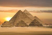 EGYPTIAN PYRAMIDS CAIRO EGYPT EPCE01 Giant WALL ART Poster Print A0 A1,A2,A3,A4