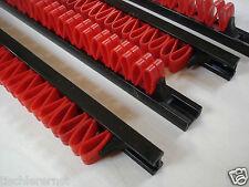 4 x Werkzeugleiste Klemmleiste Ordnung Gerätehalter für Werkbank aufräumen NEU