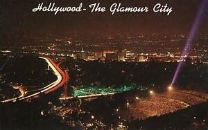 USA - California - Night view from Murholland drive of scintillating Hollywood - Deutschland - USA - California - Night view from Murholland drive of scintillating Hollywood - Deutschland