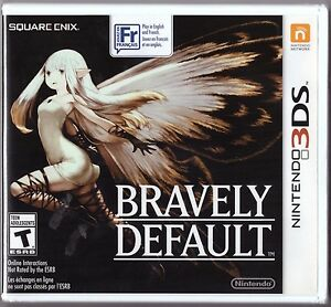 bravely default 3ds game