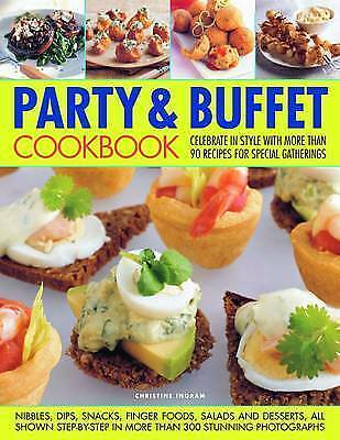 1 of 1 - Party and Buffet Cookbook-ExLibrary