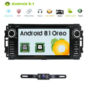 cfb35a615 Android 8.1 Multimedia Stereo Car Radio DVD Player GPS for Jeep ...