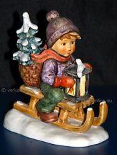FAHRT IN DIE WEIHNACHT Ride into Christmas Hummel 396/1