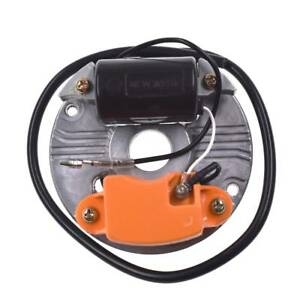 Electronic-Ignition-Coil-Assembly-and-Stator-Plate-for-STIHL-070-090-Chainsaw