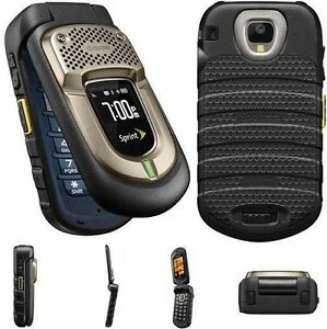 Sprint-Kyocera-Dura-XT-E4277-Black-Camera-Rugged-Military-PTT-Durable-Clean-ESN