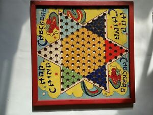 Vintage checker boards advise you