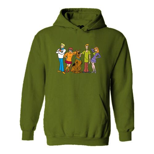Retro Cartoon Comic Animated Film Movie TV 70s 80s 90s #79 Scooby Doo Hoodie