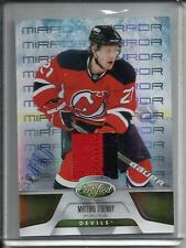 Mattias Tedenby 11/12 Panini Certified Mirror Gold Game Used Jersey Patch #12/25