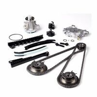 For 04-08 5.4 Ford Lincoln Triton Timing Chain Cam Phaser Water Oil Pump Kit