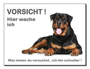 Hell Rottweiler-hund-aluminium-schild-3 Größen-türschild-warnschild-hinweisschild Blut NäHren Und Geist Einstellen Schilder & Plaketten