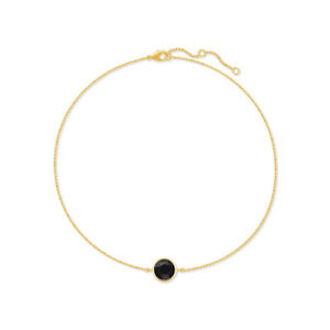 Chain-Bracelet-with-Black-Jet-Round-Crystals-from-Swarovski-Gold-Plated