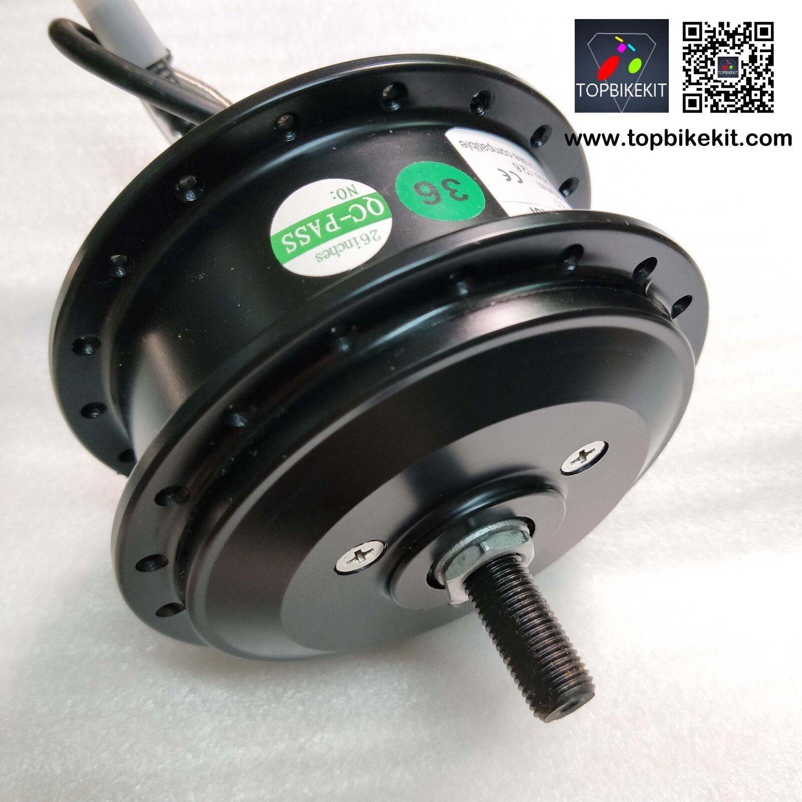 AKM-100 36V250W motor frontal RPM-201 ebike 36V250W Motor Hub tamaño de horquilla - 100mm