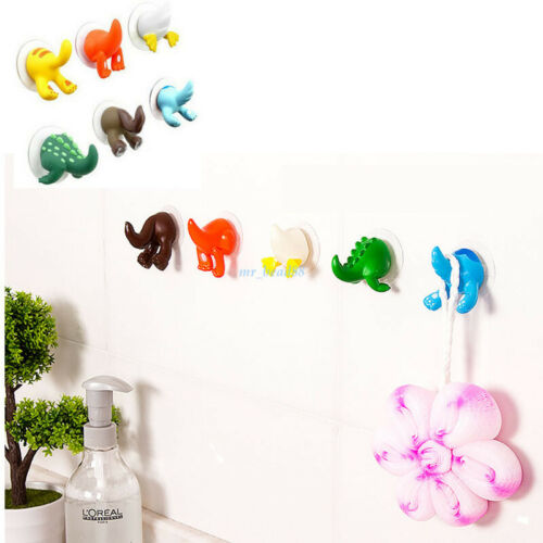 New Self Adhesive Holder Home Wall Door Plastic Animal Tail Hook Hanger 1PCS