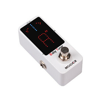 New Mooer Baby Tuner Chromatic Micro Guitar Pedal Tuner!!