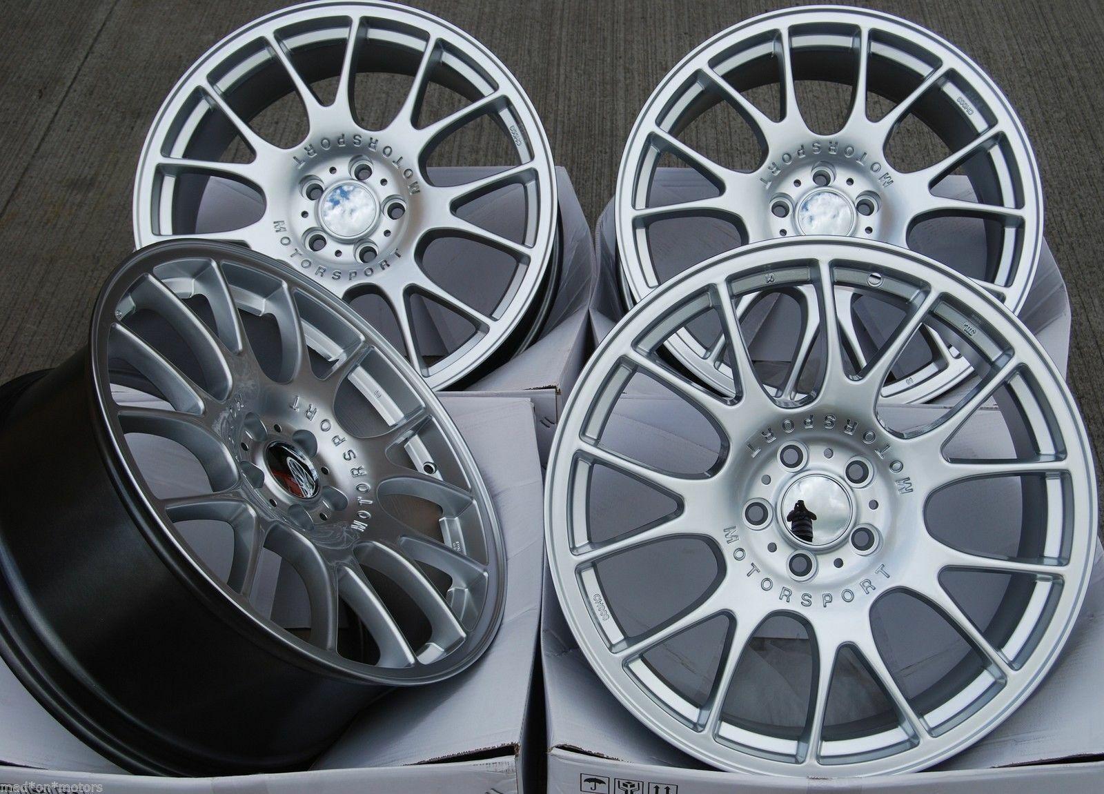 Leichtmetallräder X 4 18   Ch Stag Rtc für 5x114 Ford Lexus Mazda Mitsubishi