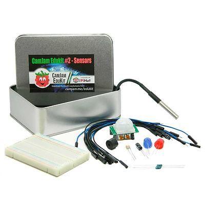 CamJam EduKit #2 - Raspberry Pi Sensor Project Kit