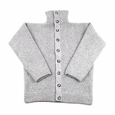 100% Lana Dachstein Woolwear Spesso Boiled Lana Maglione Cardigan Da Austria