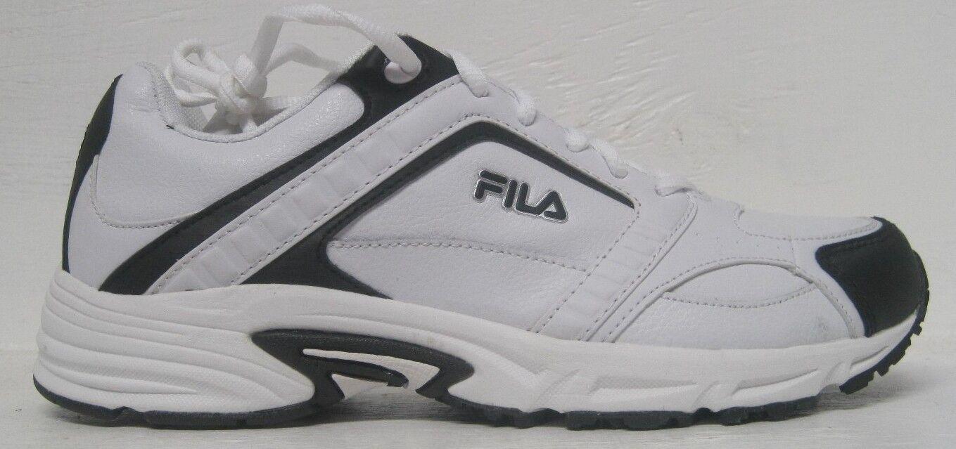 Fila Men's Talon ll Athletic Sneaker,  White/Black, Comfortable Comfortable and good-looking